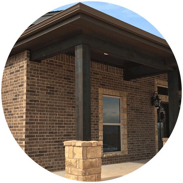 Seamless Gutter Installation, Abilene, Texas